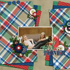 CT Layout using On My Honor by Connie Prince