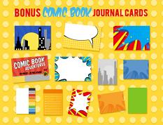 FREE BONUS journal cards with purchase of kit!