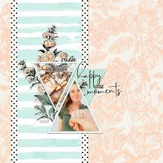 Layout by Syndee Rogers using the Hello Lovely product line