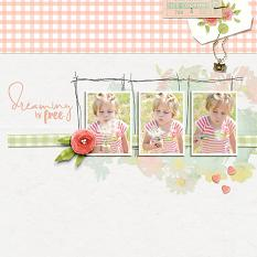 Layout by Nann Dalton using the Hello Lovely product line