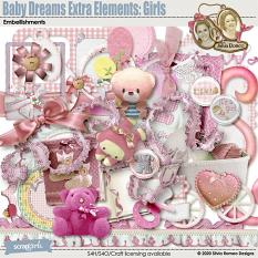 Baby Dreams Extra Elements: Girls by Silvia Romeo