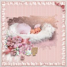 Baby Dreams Layout by kythe