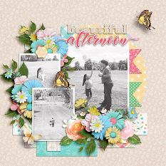 CT Layout using Garden Party by Connie Prince