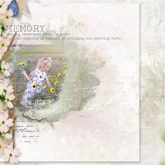 layout using Welcome Here Easy Page Pro : Album of 9 QP by Florju Designs