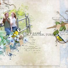 layout using Value Pack: Welcome Here by Florju Designs