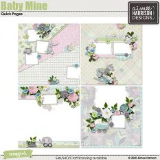 Baby Mine Quickpages