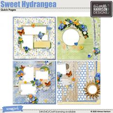 Sweet Hydrangea Quickpages