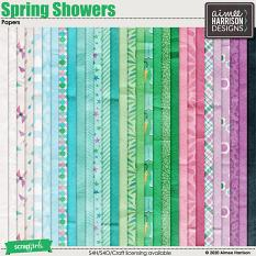 Spring Showers Papers