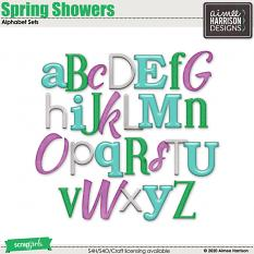 Spring Showers Alpha Sets