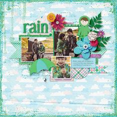 Spring Showers Layout