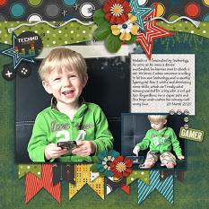 CT Layout using Overlay Play Volume 6 by Connie Prince