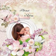 layout using Mom Collection by BeeCreation