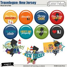 Travelogue New Jersey by Connie Prince