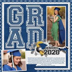 CT Layout using Graduation by Connie Prince
