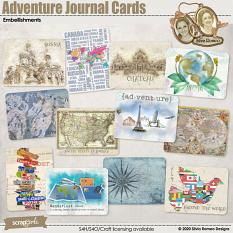 Adventure Journal Cards by Silvia Romeo