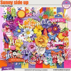Sunny side up collection biggie by HeartMade Scrapbook