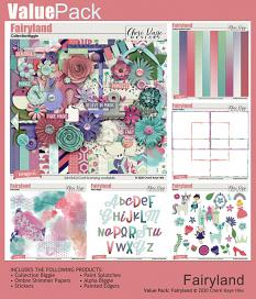 Value Pack: Fairyland by Chere Kaye Designs