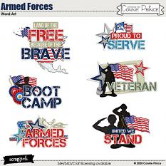Armed Forces by Connie Prince