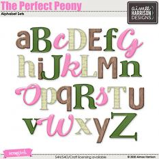 The Perfect Peony Alpha Sets