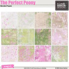 The Perfect Peony Blended Papers