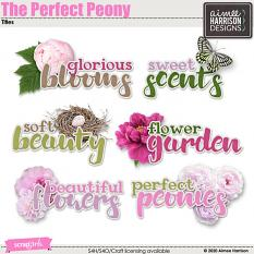 The Perfect Peony Titles