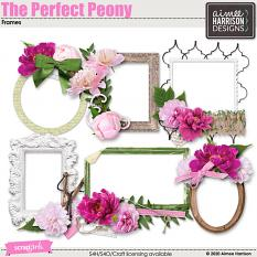 The Perfect Peony Frame Clusters
