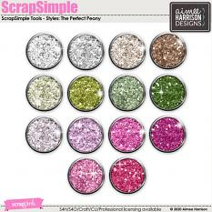 The Perfect Peony Glitters