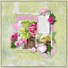 The Perfect Peony Layout