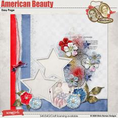 American Beauty Easy Page by Silvia Romeo