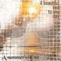 """""""A Summer's Eve"""" digital layout showcases SS Brush Set: Rustic Renditions"""