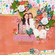 Bee Grateful Layout