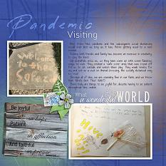 """""""Pandemic Visiting"""" digital layout features SSWAT: Rustic Renditions"""
