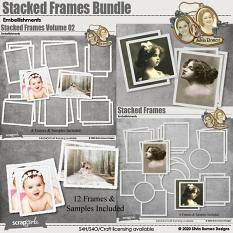 Value Pack: Stacked Frames by Silvia Romeo