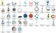 Sail Away Collection by ButterflyDsign details