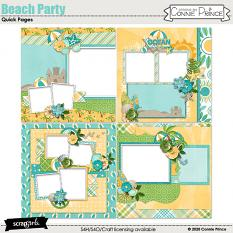 Beach Party - Quick Pages
