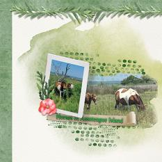 Layout using ScrapSimple Digital Layout Collection:warm heart
