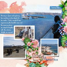 ScrapSimple Digital Layout Templates:my holiday