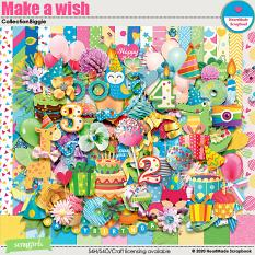 Make a wish collection biggie by HeartMade Scrapbook