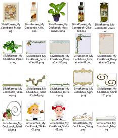 My Cookbook Details by Silvia Romeo