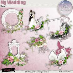 My Wedding Cluster by BeeCreation
