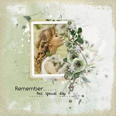 Layout using ScrapSimple Digital Layout Collection:Everyday Moment