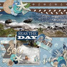 CT Layout using Built In Borders Volume 1 12x12 Templates by Connie Prince