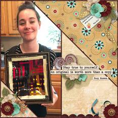 CT Layout using In Pieces Volume 26 12x12 Templates by Connie Prince