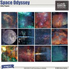 Space Odyssey Artsy Papers