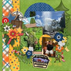 CT Layout using Travelogue Wyoming by Connie Prince