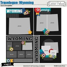 Travelogue Wyoming by Connie Prince
