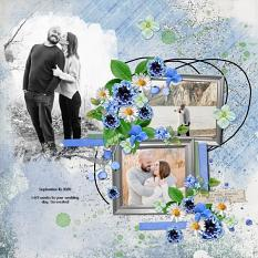 Layout using ScrapSimple Digital Layout Collection:my life is