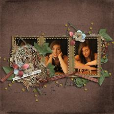 Layout using The Caged Bird Still Sings by Designs by Helly