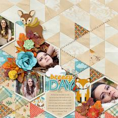 Breezy Autumn Layout