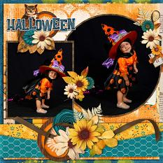 CT Layout using #2020 October by Connie Prince
